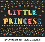little princess. cute greeting...