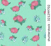 floral seamless pattern...   Shutterstock .eps vector #321299702