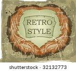 vintage frame | Shutterstock .eps vector #32132773