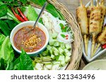 nham due  vietnamese food | Shutterstock . vector #321343496