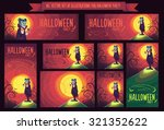 big set with vector... | Shutterstock .eps vector #321352622