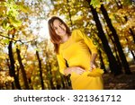 Young Woman In The Yellow Dres...