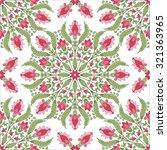 seamless oriental pattern. | Shutterstock .eps vector #321363965