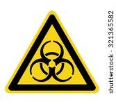 biohazard sign. symbol of... | Shutterstock .eps vector #321365582