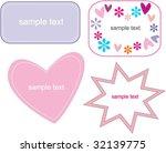funny frames   Shutterstock .eps vector #32139775
