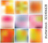 set of blurred backgrounds....   Shutterstock .eps vector #321406628