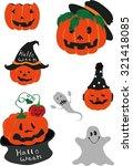 halloween   Shutterstock .eps vector #321418085