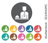 service bell icon  hotel set.... | Shutterstock .eps vector #321441092