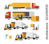 vector illustration in a flat... | Shutterstock .eps vector #321450935