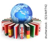 foreign languages learn and... | Shutterstock . vector #321469742