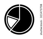 pie chart icon  | Shutterstock .eps vector #321473708