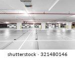 underground parking garage | Shutterstock . vector #321480146
