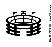 sport icon   stadium sign | Shutterstock .eps vector #321482222