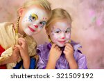 painterly portrait of two... | Shutterstock . vector #321509192