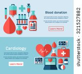 medical care flat illustration. ... | Shutterstock .eps vector #321527882