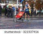 athletes marathon participants. ... | Shutterstock . vector #321537416