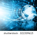best internet concept of global ... | Shutterstock . vector #321539615