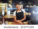 warm welcoming young business... | Shutterstock . vector #321571202