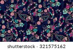 seamless paisley background... | Shutterstock .eps vector #321575162