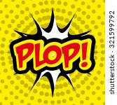 pop art and comic design ... | Shutterstock .eps vector #321599792