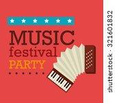 music festival design  vector... | Shutterstock .eps vector #321601832