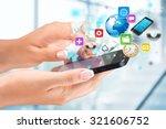 mobile apps.   Shutterstock . vector #321606752