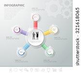5 steps infographic template....   Shutterstock .eps vector #321618065