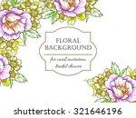 vintage delicate invitation...   Shutterstock .eps vector #321646196