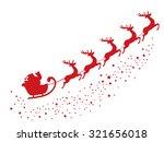 vector illustration of flying... | Shutterstock .eps vector #321656018