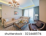 room interior with modern... | Shutterstock . vector #321668576