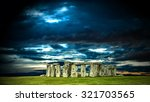 Stonehenge With Cloudy Sky ...