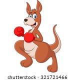 Illustration Of Cute Kangaroo