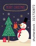 christmas card christmas... | Shutterstock .eps vector #321732872