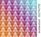 abstract geometric vector... | Shutterstock .eps vector #321741752