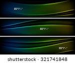 set of banner  header... | Shutterstock .eps vector #321741848