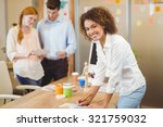 portrait of smiling... | Shutterstock . vector #321759032