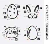 easter infographic | Shutterstock .eps vector #321763715
