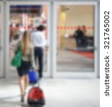 commuters background ...   Shutterstock . vector #321765002