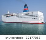 huge ferry heading for a new...