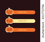 halloween sale offer design... | Shutterstock .eps vector #321772706