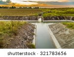 Channel To Divert River Water...