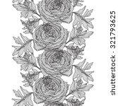 elegant seamless pattern with... | Shutterstock .eps vector #321793625