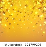 holiday background with stars... | Shutterstock .eps vector #321799208