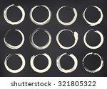 vector zen circles set...   Shutterstock .eps vector #321805322