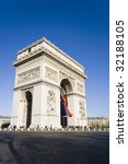 arc de triomphe  paris france | Shutterstock . vector #32188105