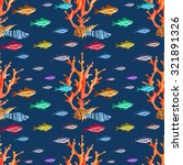watercolor seamless pattern...   Shutterstock . vector #321891326