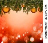 christmas card | Shutterstock . vector #321897425