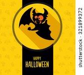 illustration about vampire on... | Shutterstock .eps vector #321899372