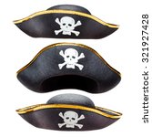 Pirate Fancy Dress Hat With...