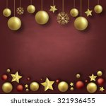 christmas abstract background... | Shutterstock . vector #321936455